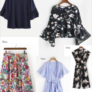 Floral and Ruffles…